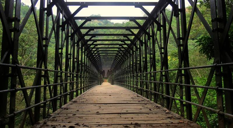 The Mysterious Halaba Steel Bridge in Hali-Ela