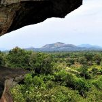 View from the main cave — at Kudagala in Dehiaththakandiya
