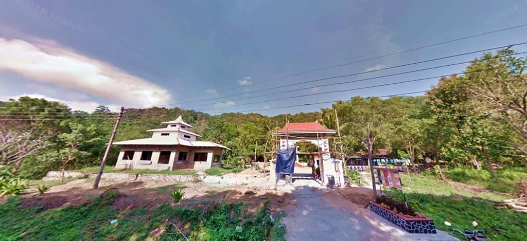 Entrance to the Wickramashila Rajamaha Viharaya