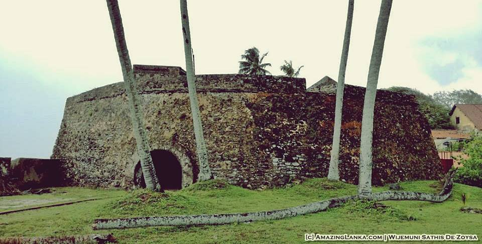 The Black Fort of Galle