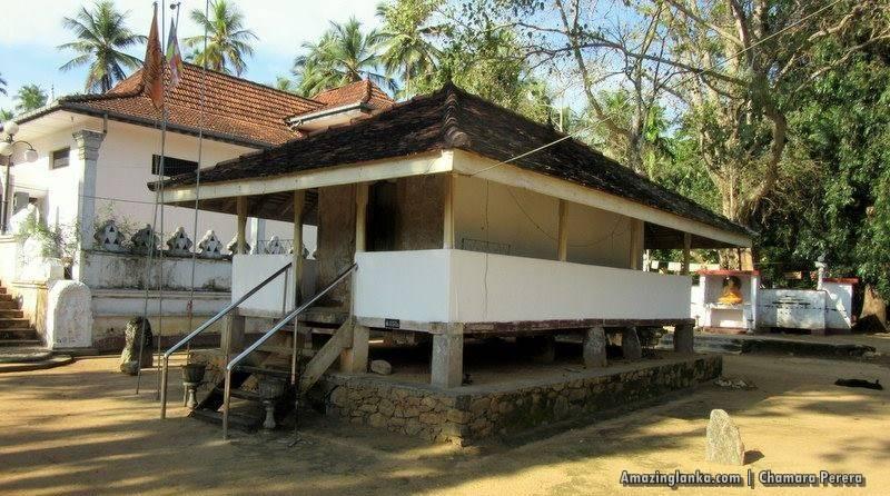 Tampita Viharaya of the Atupothdeniya Pothgul Rajamaha Viharaya