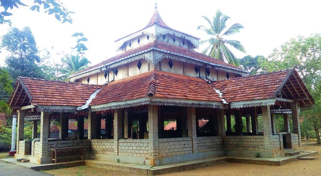 The old Dharma Shalawa of Keragala Padmavathi Rajamaha Viharaya