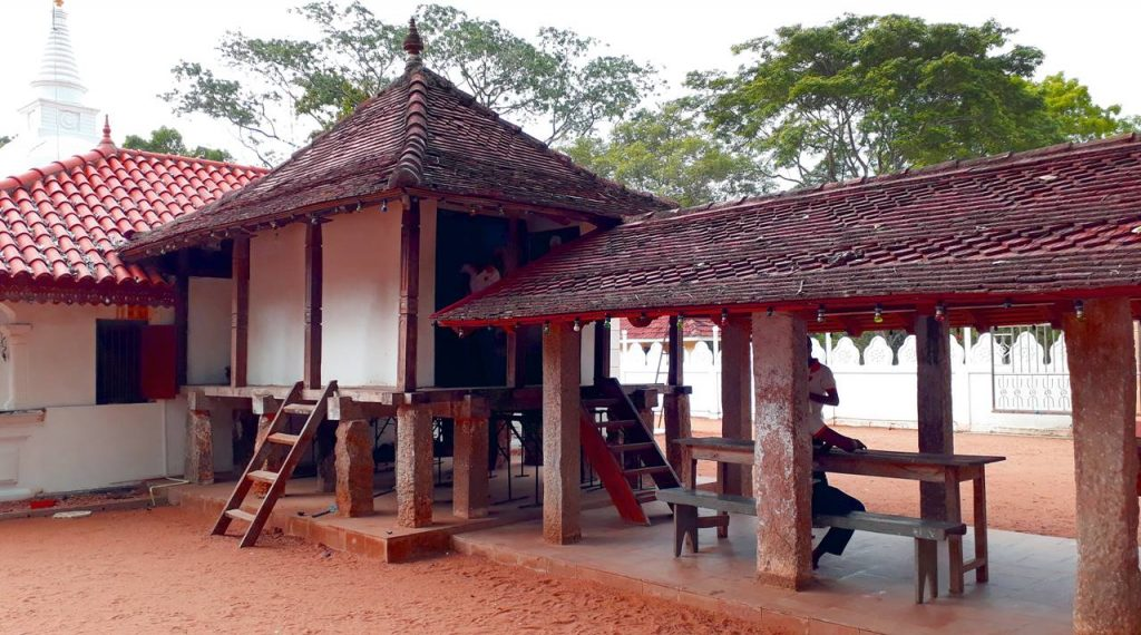 The Tampita Viharaya if the Panduwasnuwara Rajamaha Viharaya