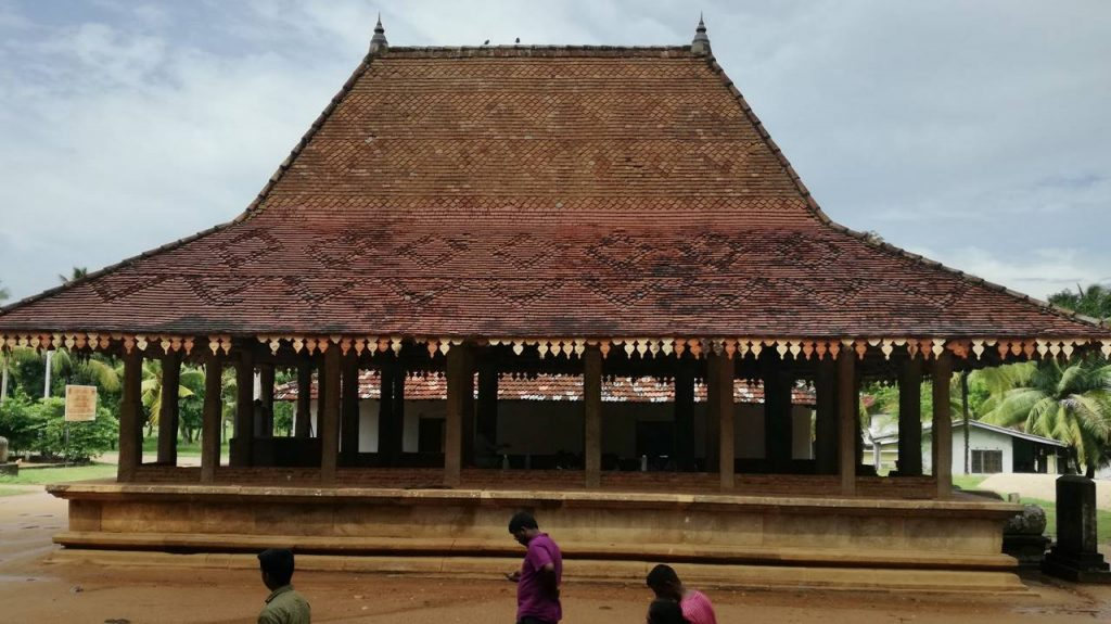 Dalada Maligawa at the Panduwasnuwara Rajamaha Viharaya
