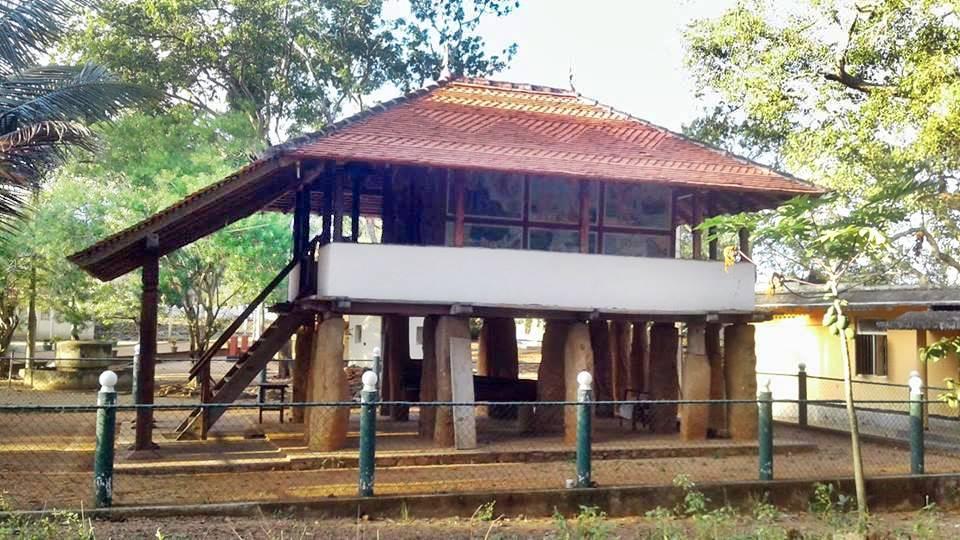 Tampita Viharaya at the Kadawalagedara Sulugulu Rajamaha Viharaya