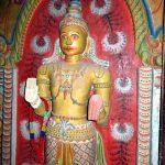 Statue of deity Saman in the Dethawa Sri Mahamuni Purana Tampita Viharaya