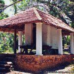Daulagala Tampita Viharaya hidden inside a black peper orchard.