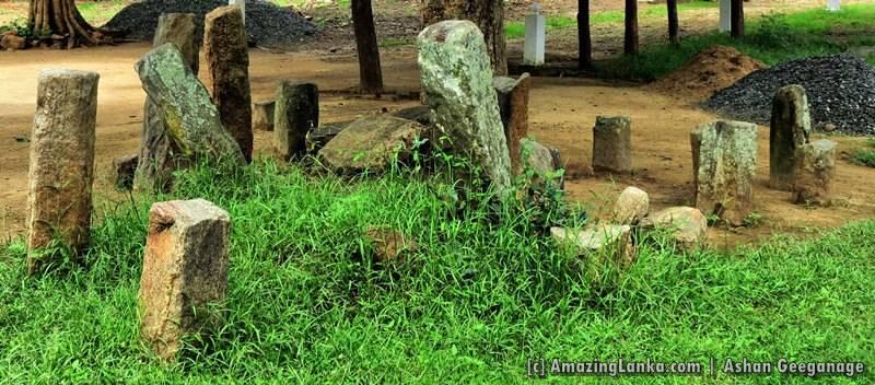 Ruins at Pelawatta Horobokka Sri Devagiri Rajamaha Viharaya