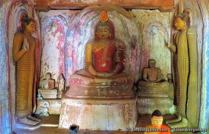 The ancient image house of Badalkumbura Veheragoda Purana Rajamaha Viharaya