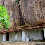 The main cave temple of Mullegama Mulgirigala Rajamaha Viharaya