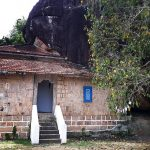 The image house built by king Rajasinghe II at Metiyagane Mayurawathi Rajamaha Viharaya
