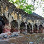 Ruins of the old Dutch Kachcheri Building in Jaffna