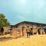Ruins of the Manalkadu Dutch Church in Jaffna