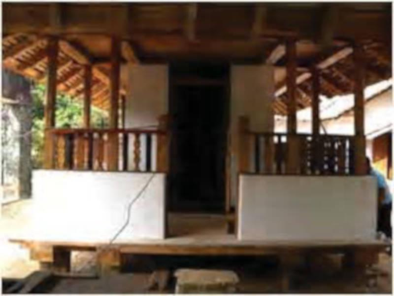 Kandegedara Purana Tampita Viharaya after restoration