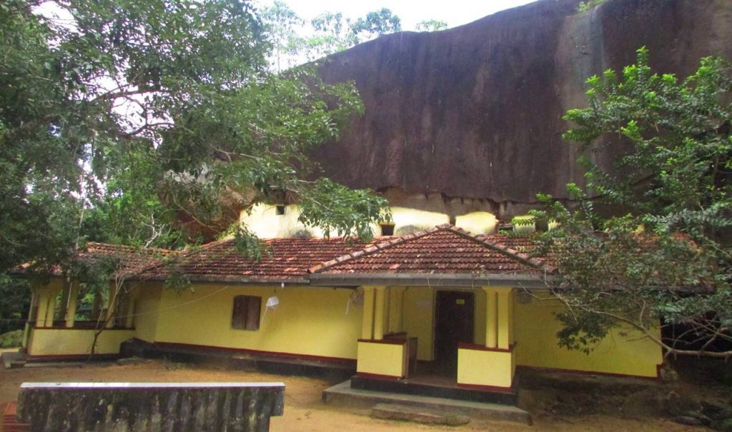 The image house built in 1904 in Rotumba Budugala Rajamaha Viharaya