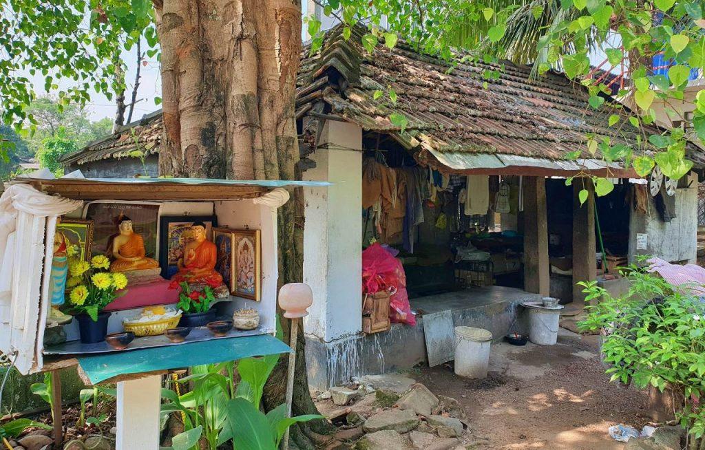 Athurugiriya Ambalama over 100 years old now in a dilapidated state.