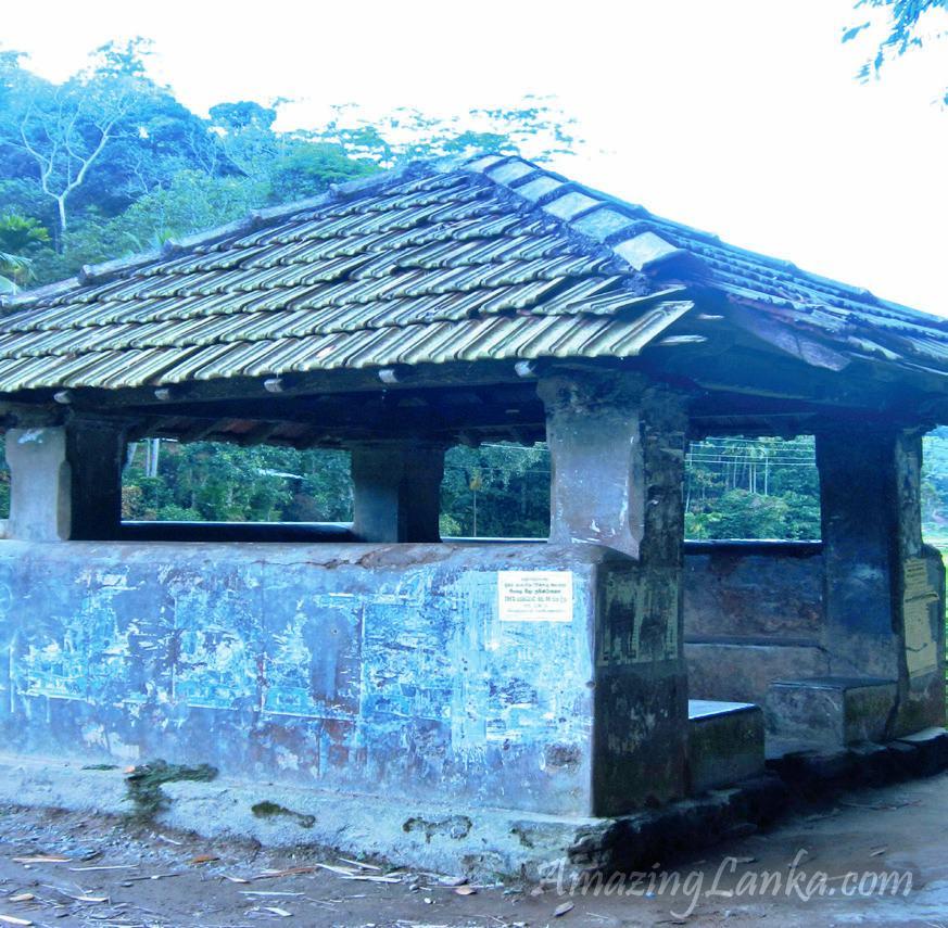 උඩුනුවර වට්ටප්පොල අම්බලම - Udunuwara Wattappola Ambalama