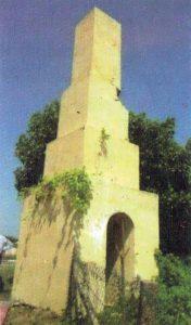 මන්නාරම තිරුකේතිශ්වරම් කෝවිල පාර පැරණි මිනින්දෝරු කුළුණ - Thiruketheeswaram Kovil Road Survey Tower